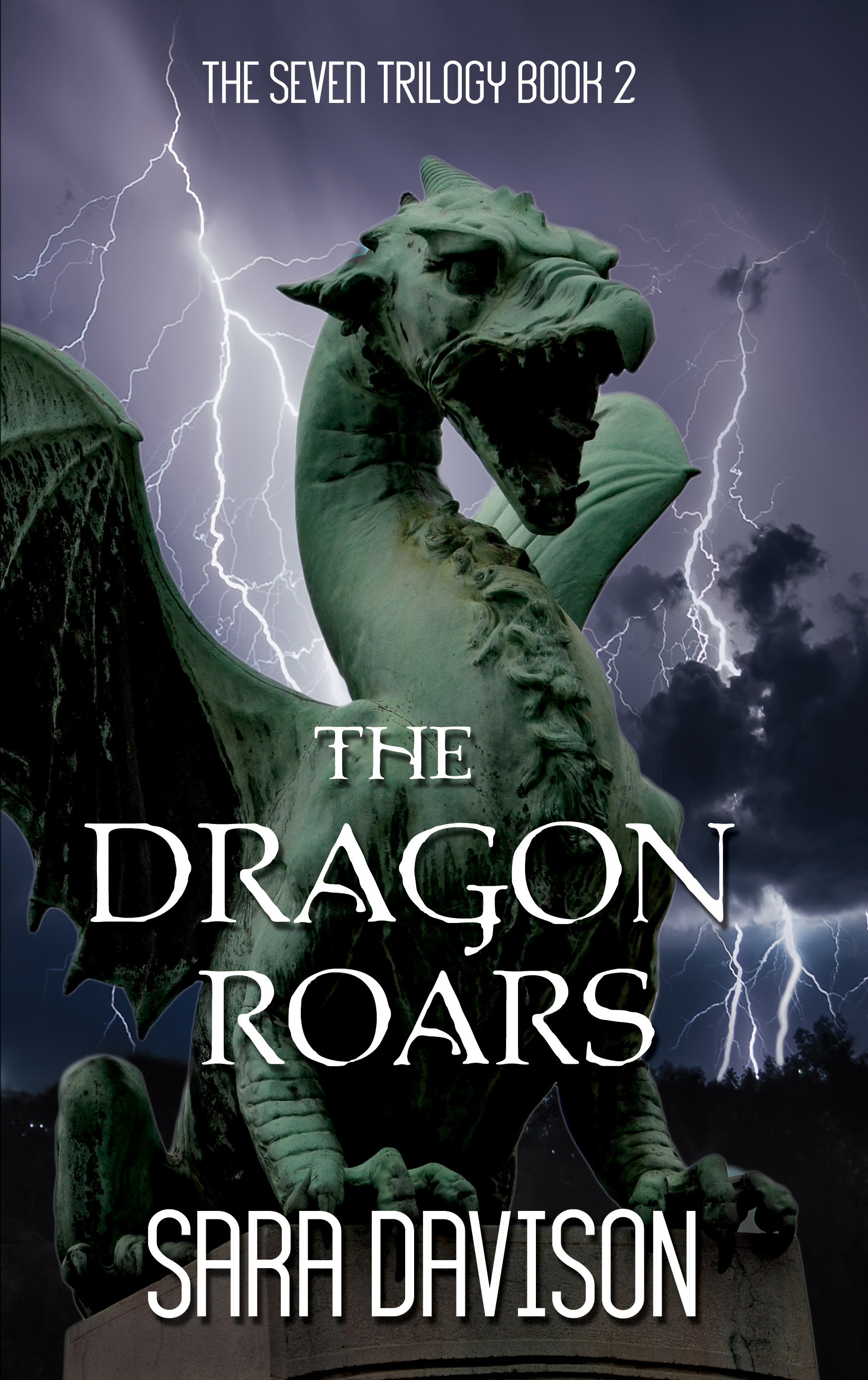 The Dragon Roars-Front Cover