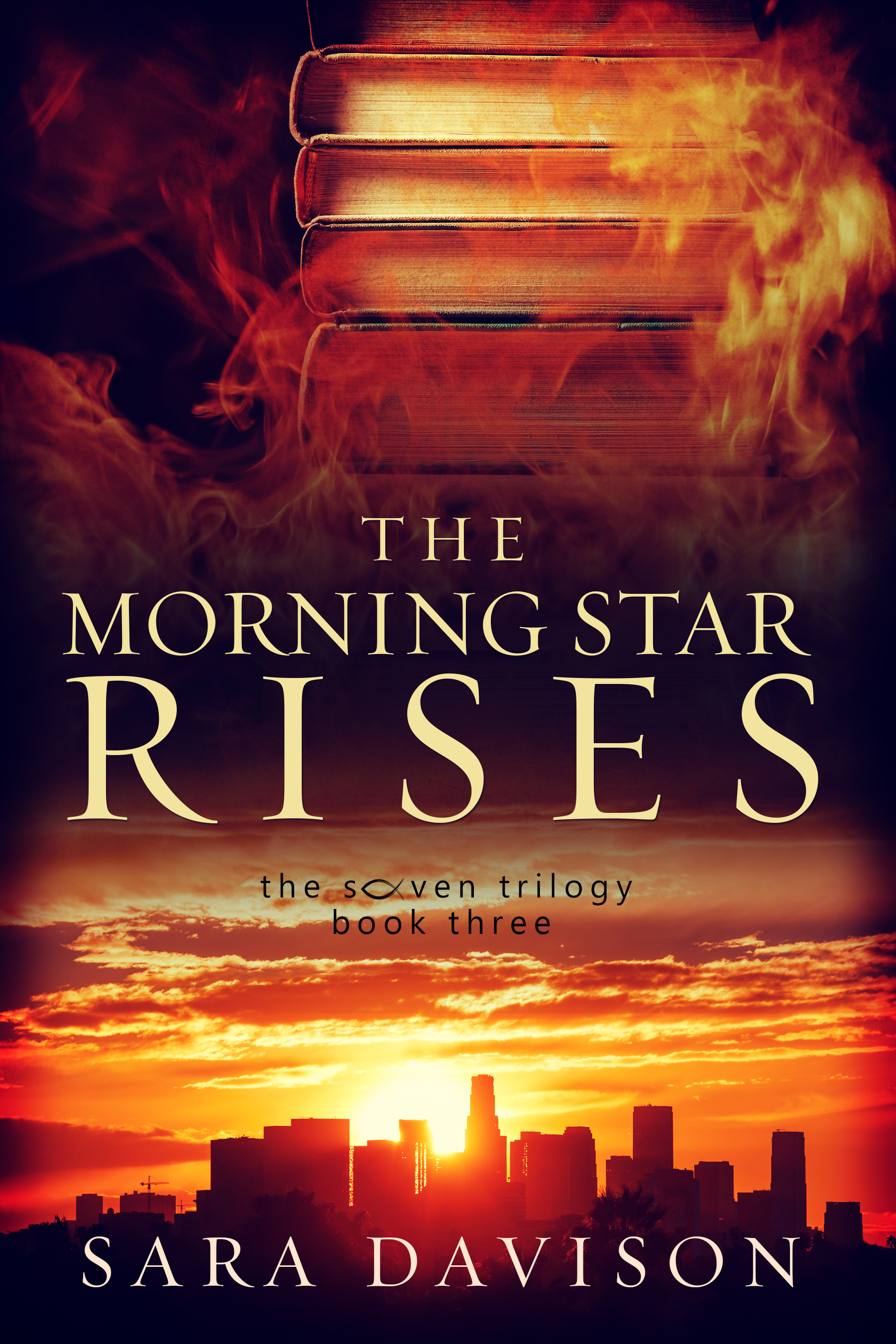 The Morning Star Rises flaming books LA