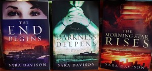 Seven Trilogy - front covers